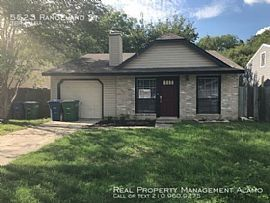 5523 Rangeland St, San Antonio, Tx 78247 3 Beds 1 Bath 986 Sqft