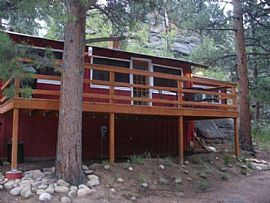 Do Not Be Fooled. This Cabin Is 1.5 Miles From Estes Park City